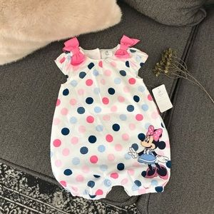 Mini Mouse Baby Girl Romper 6-9 months
